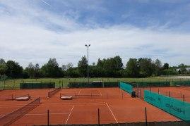 Panorama-Blick über die Bichelweiher-Arena Enzisweiler/Bodolz