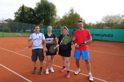 Abteilungsleitung Tennis v.r. Stefan Fingerle und Jutta Wydra